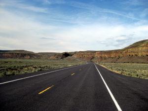 Wegen in de VS, rondreis door West-Amerika, freeway