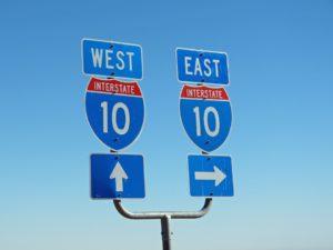 Wegen in de VS, rondreis door West-Amerika, Interstate Highway