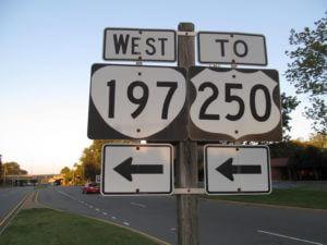 Wegen in de VS, rondreis door West-Amerika, State Route