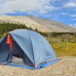 Kamperen in Rocky Mountains