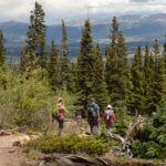Wandelen in Rocky Mountains